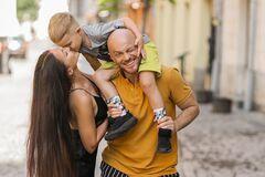 Влад Яма с женой и сыном