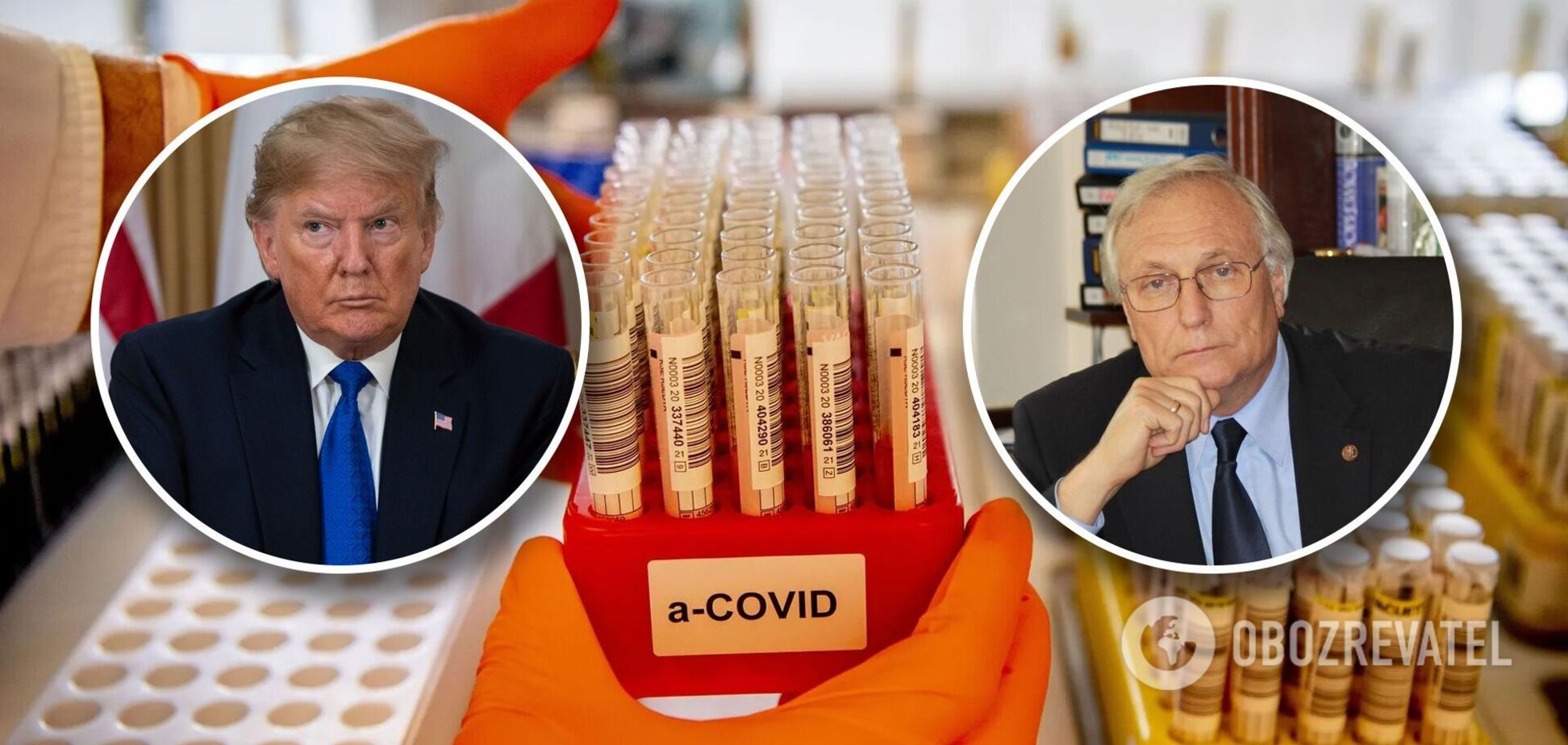 Академік Комісаренко: українців треба лікувати від COVID-19 тим, чим лікували Трампа