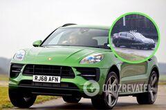 Електричний Porsche Macan вперше помітили на тестах
