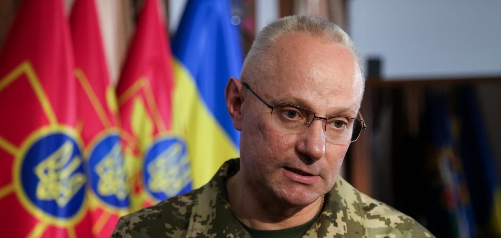 Головнокомандувач Збройних сил України, генерал-полковник Руслан Хомчак