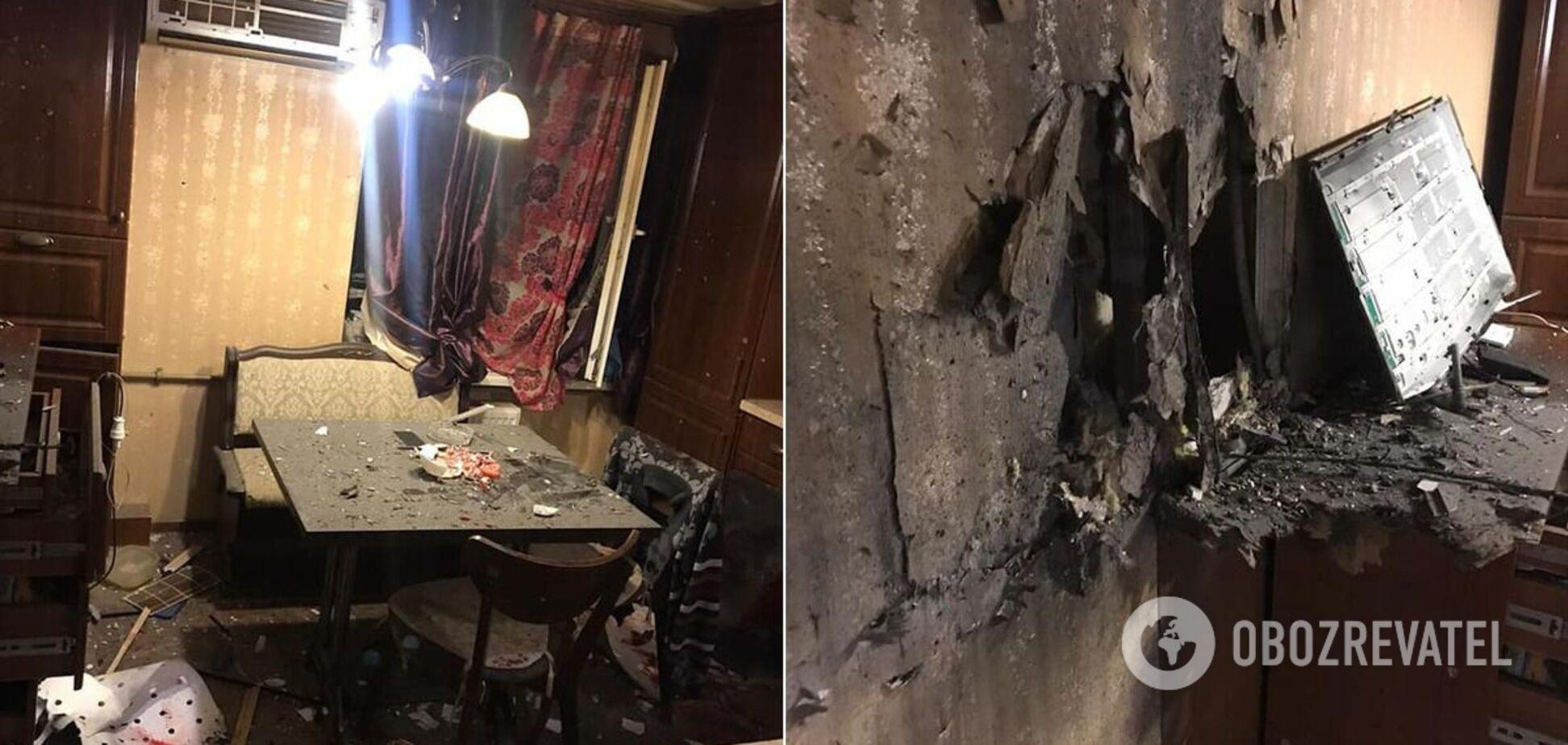 На Луганщине в квартире подорвались отец и сын