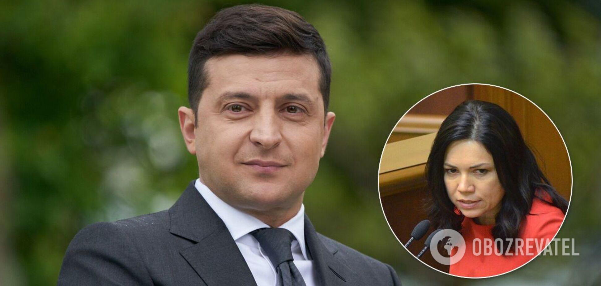 Сюмар розкритикувала послання Зеленського до українців у Раді