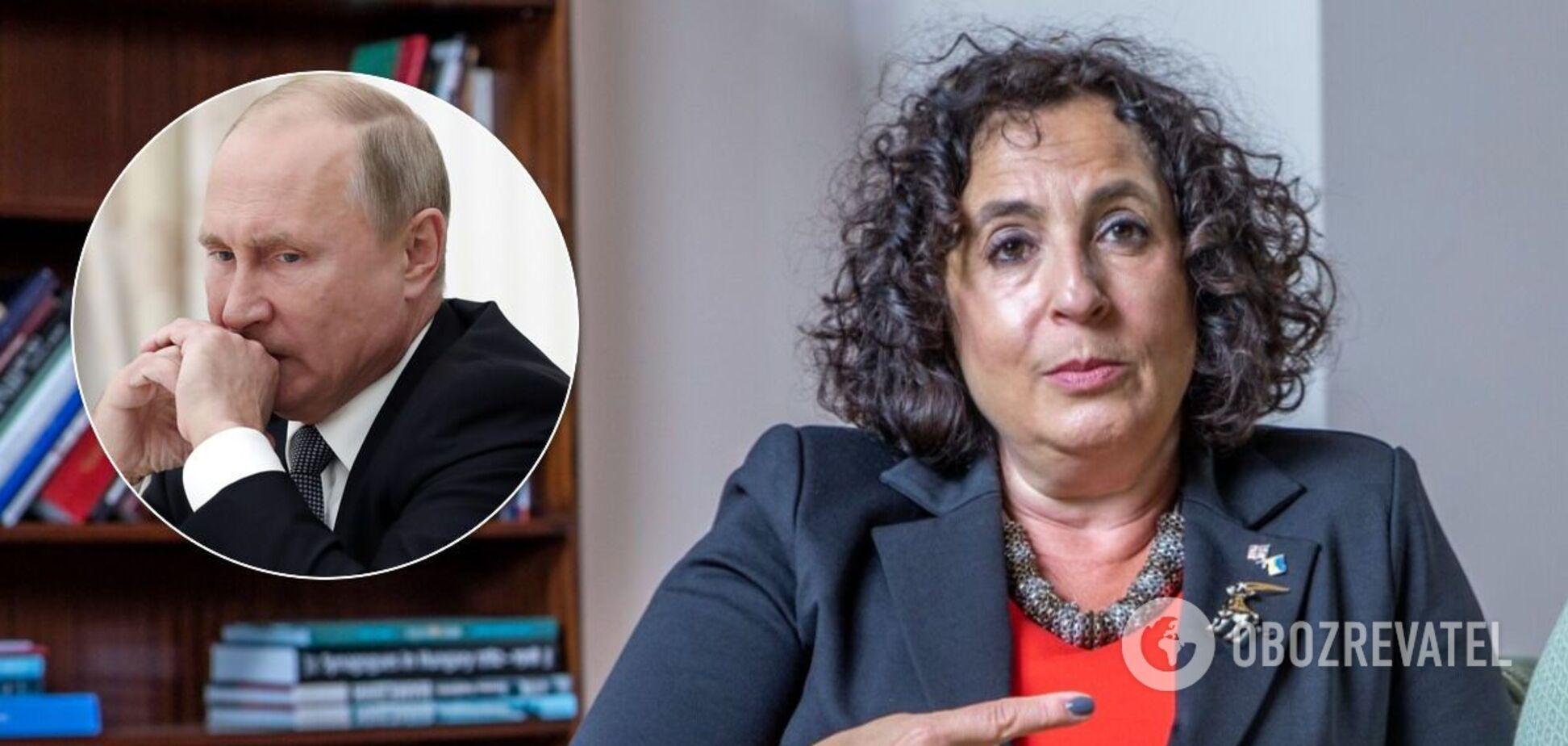 Мелинда Симмонс высказалась об агрессии России