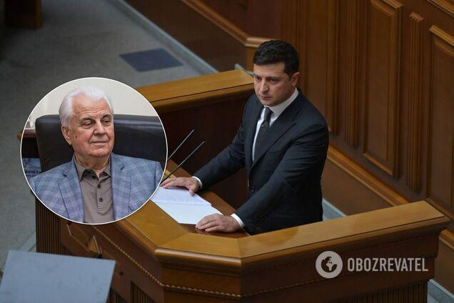 Кравчук – об отчете Зеленского: Украине нужны военно-морские базы, на Путина можно давить
