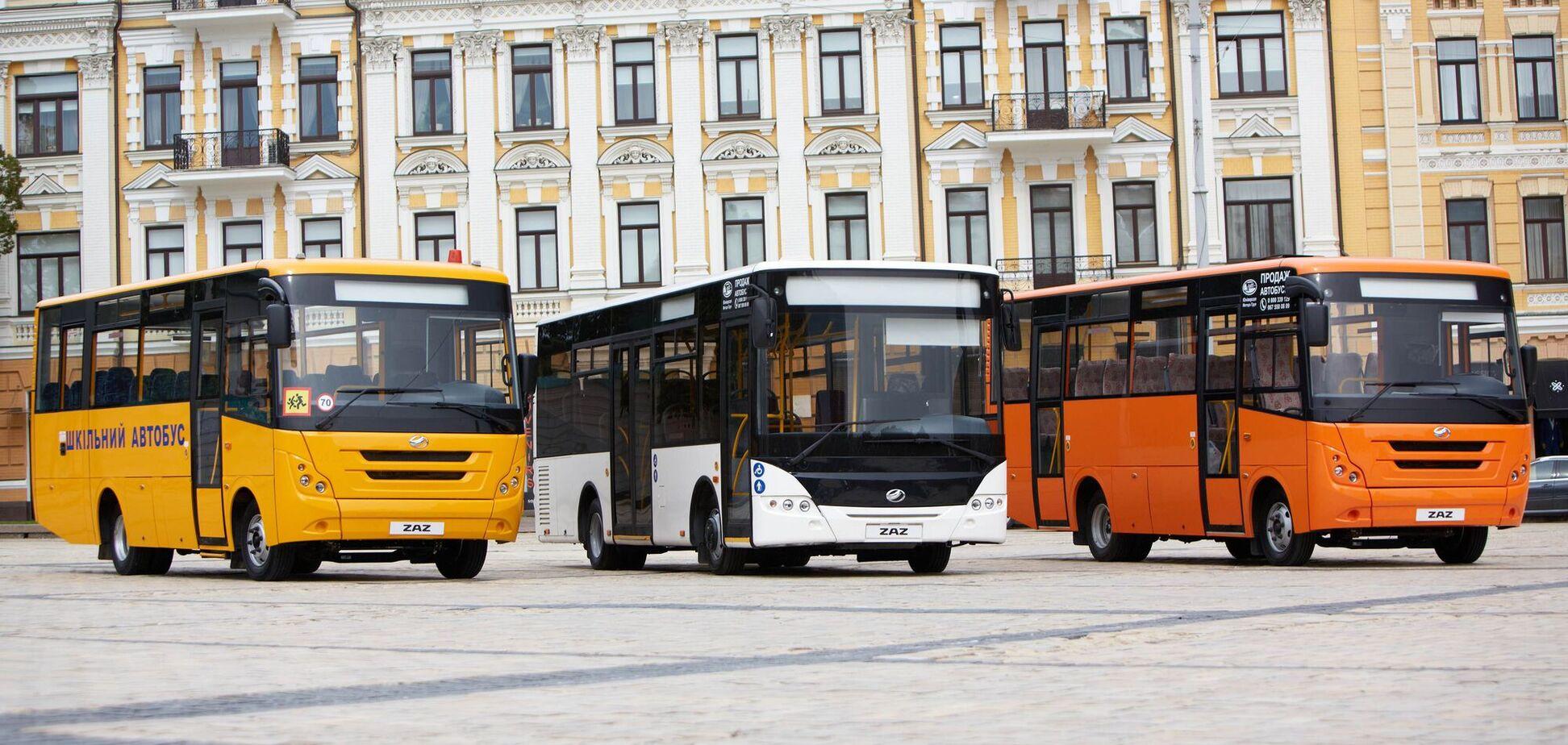 Вскоре в европейских городах на линиях общественного транспорта появятся автобусы украинского производства