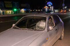 У Дніпрі в результаті нічної ДТП постраждав пішохід. Фото