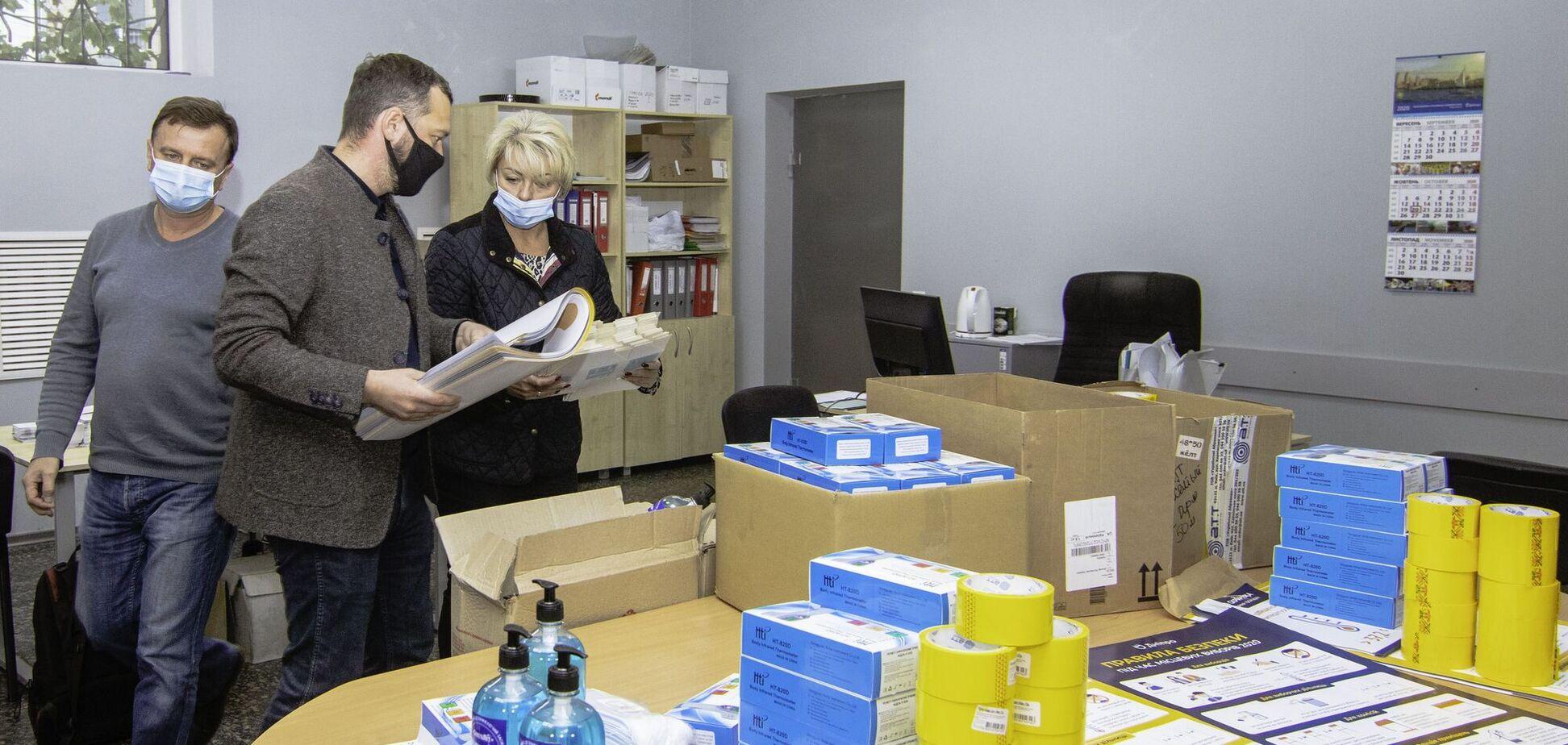 На избирательных участках Днепра будет обеспечена инфекционная безопасность