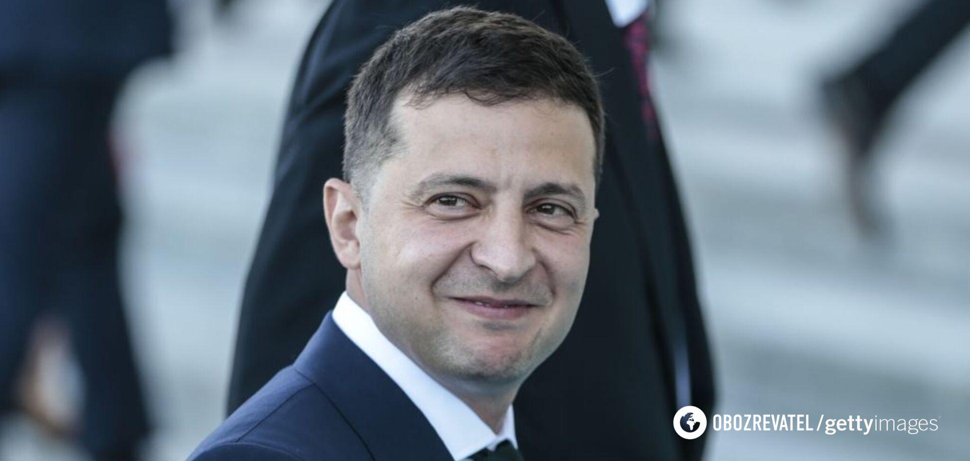 Владимир Зеленский назвал Крым и Донбасс своими приоритетами
