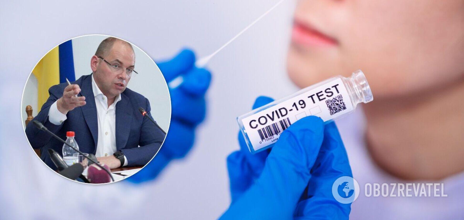 Максим Степанов озвучив статистику захворюваності в Україні