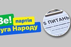 Назван официальный спонсор опроса Зеленского