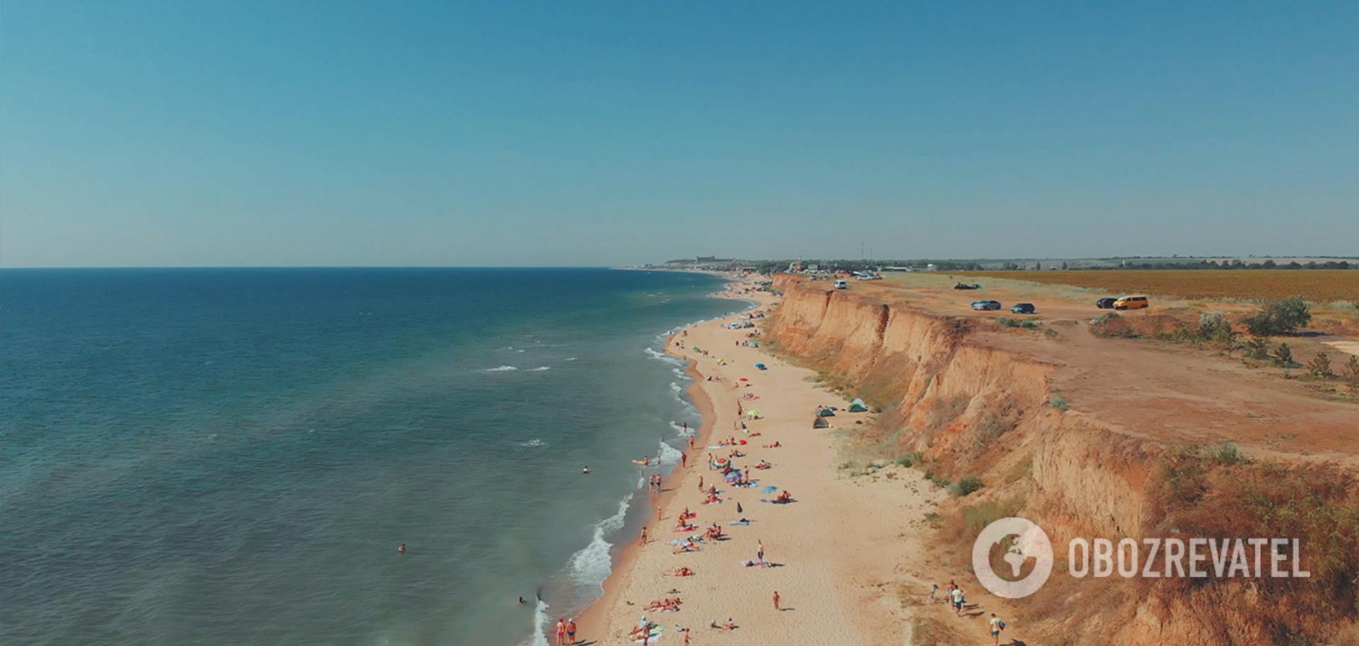 На расстоянии 40 километров от Одессы расположено живописное и особое место