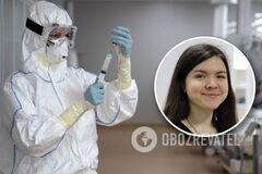 21-летняя активистка Инна Волкова умерла от редкого аутоиммунного заболевания Гиенна-Барре, спровоцированного коронавирусом