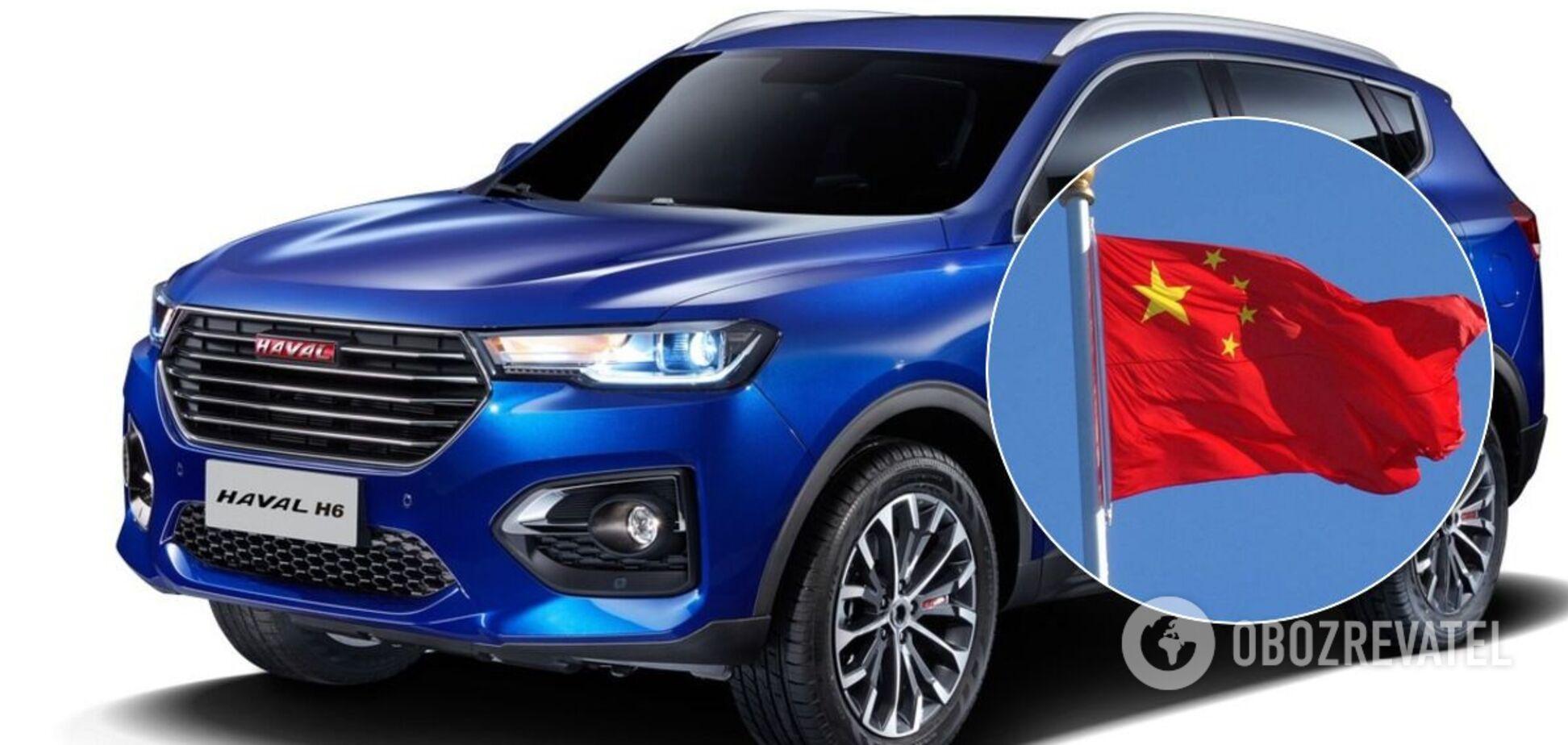 В Україні багато китайських машин на різний гаманець: є бюджетні седани, кросовери та навіть пікапи