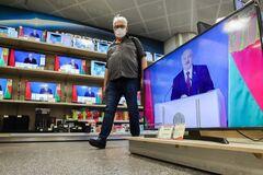 На белорусском ТВ началась антиукраинская пропаганда