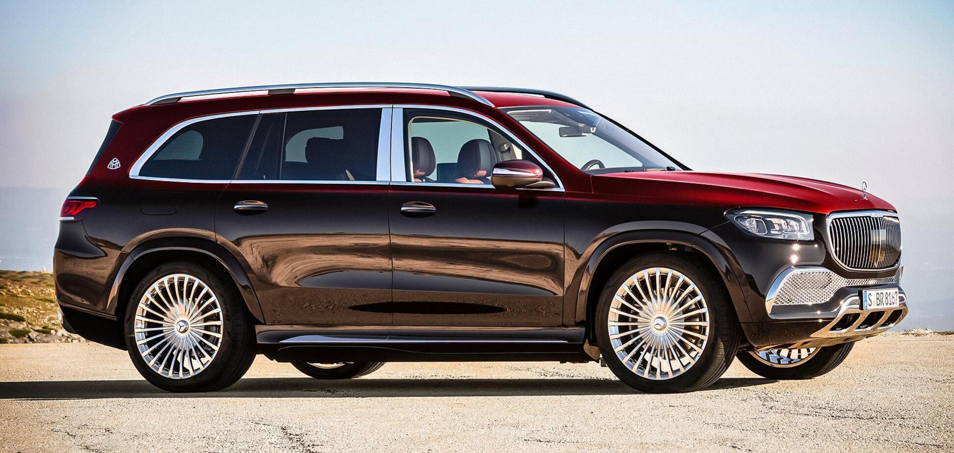Украинцам предложили новый кроссовер Mercedes-Maybach за 160 000 евро
