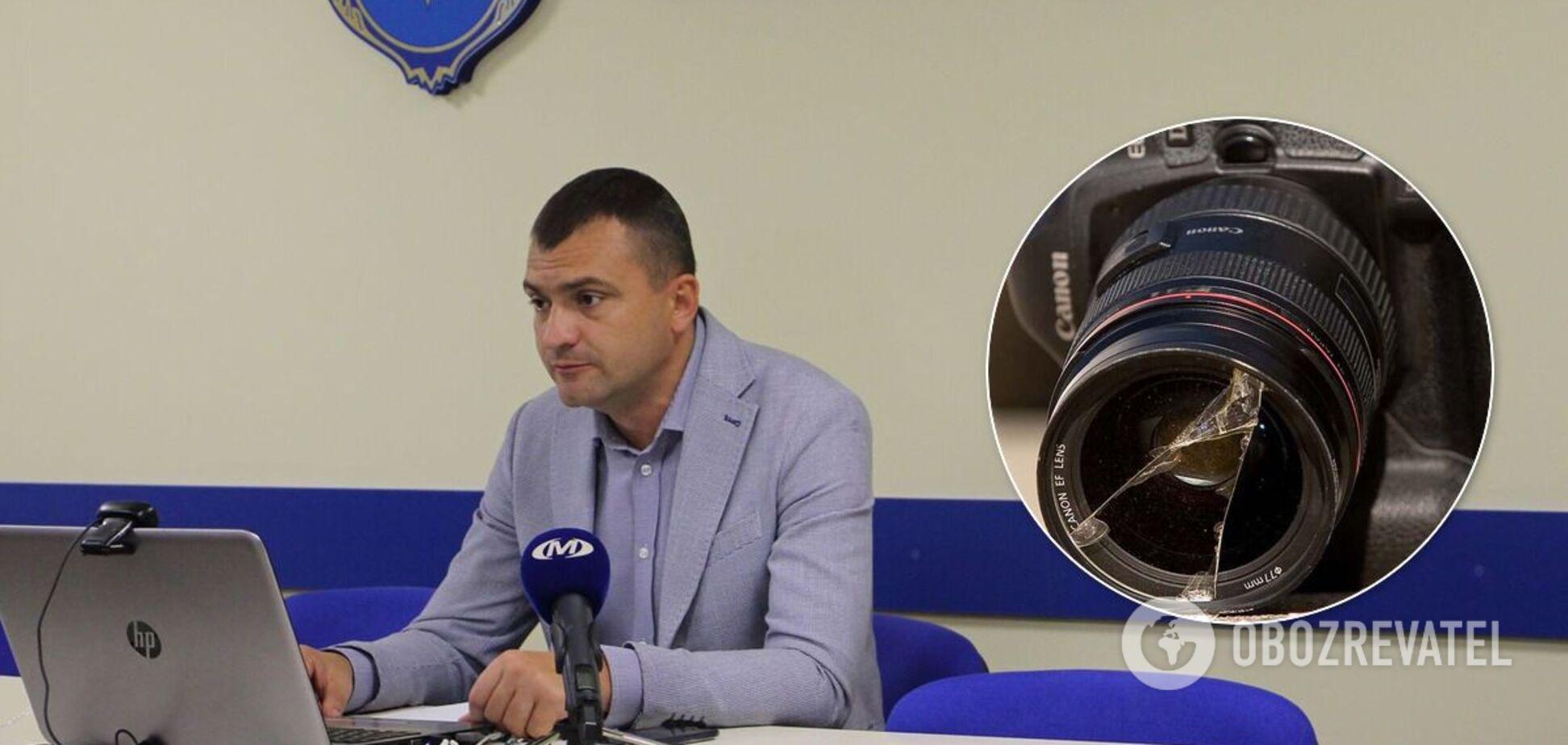 У Хмельницькому напали на журналіста, який відкрито критикував мера Симчишина