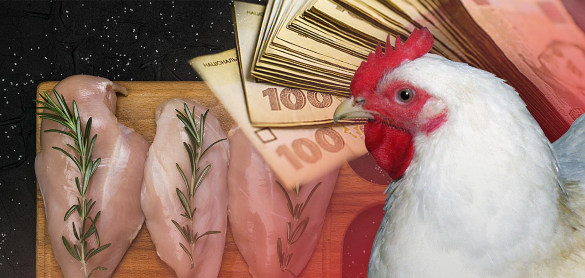 Экспортер курятины в Украине уклоняется от уплаты налогов