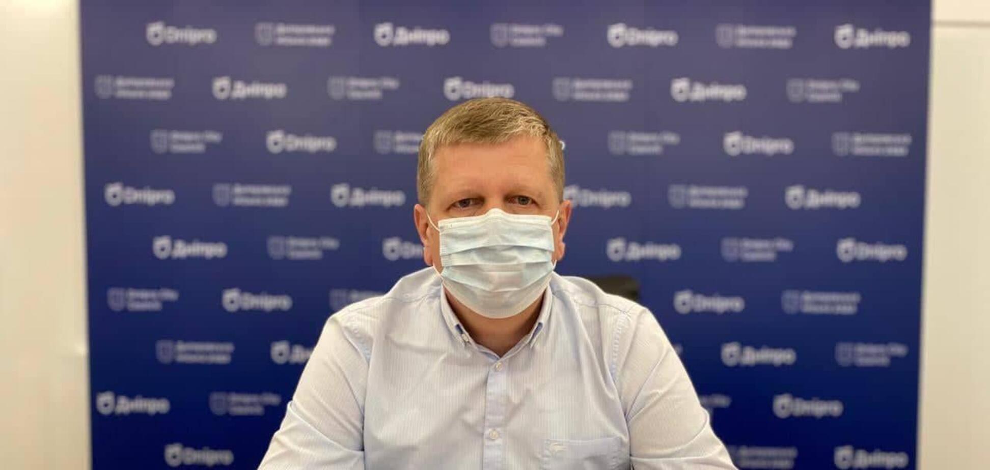 Андрій Бабський повідомив про дотримання протиепідемічних правил на виборчих дільницях Дніпра