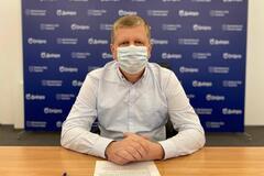Андрей Бабский сообщил о соблюдении противоэпидемических правил на избирательных участках Днепра