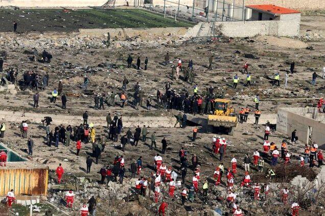 Иран предоставит Украине данные по расследованию катастрофы самолета МАУ