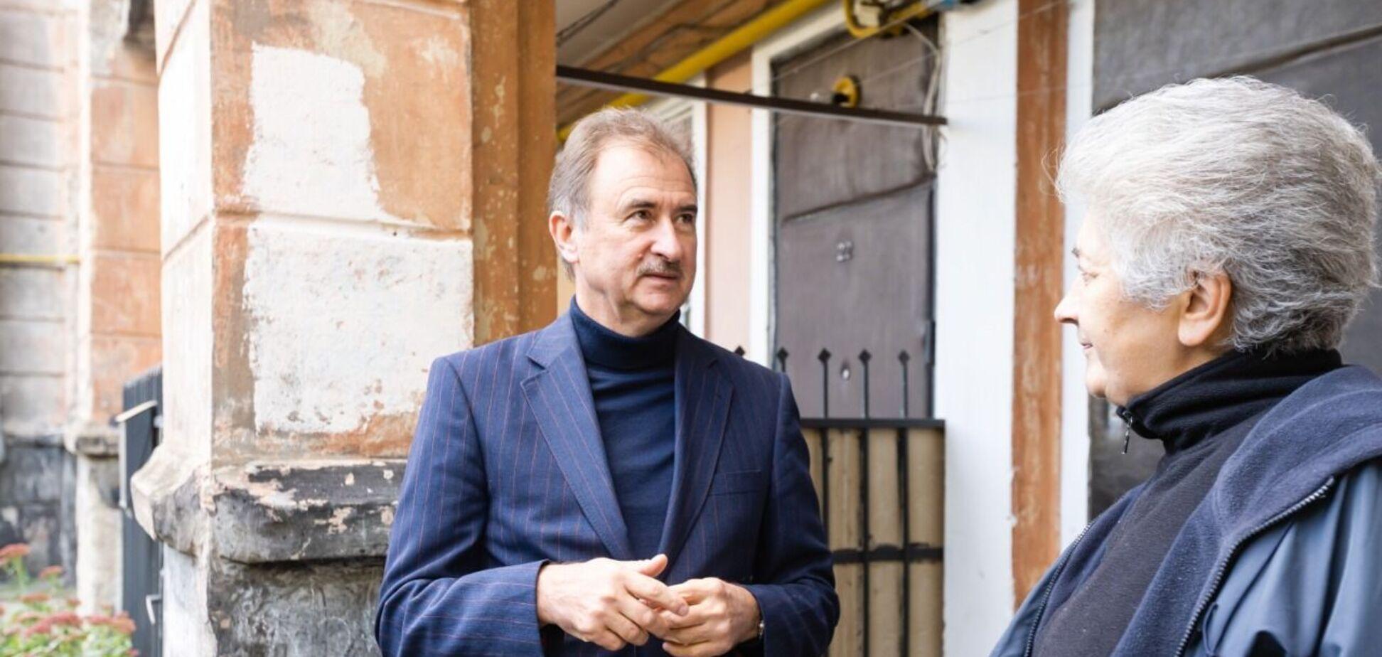 Кандидат у мери Києва Попов пообіцяв запустити програму капітального ремонту столичних хрущовок