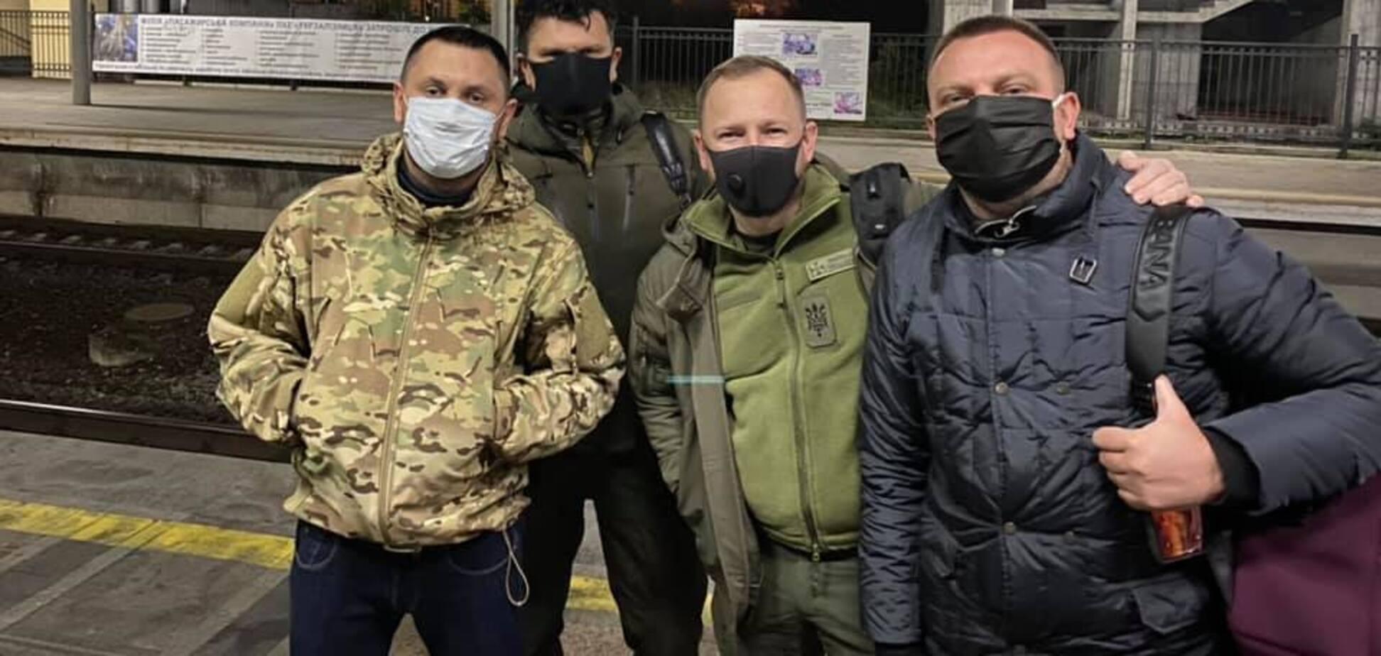 'Слуги народу' відвідали Донбас