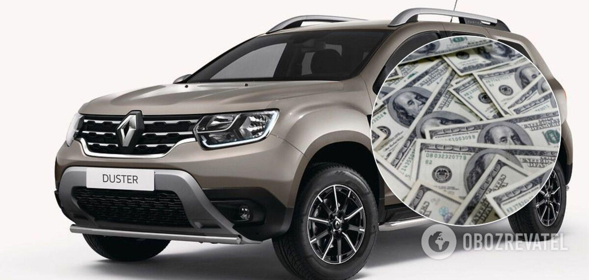 В Україні велика кількість старих Renault Duster на ринку