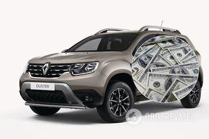 В Украине большое количество подержанных Renault Duster на рынке