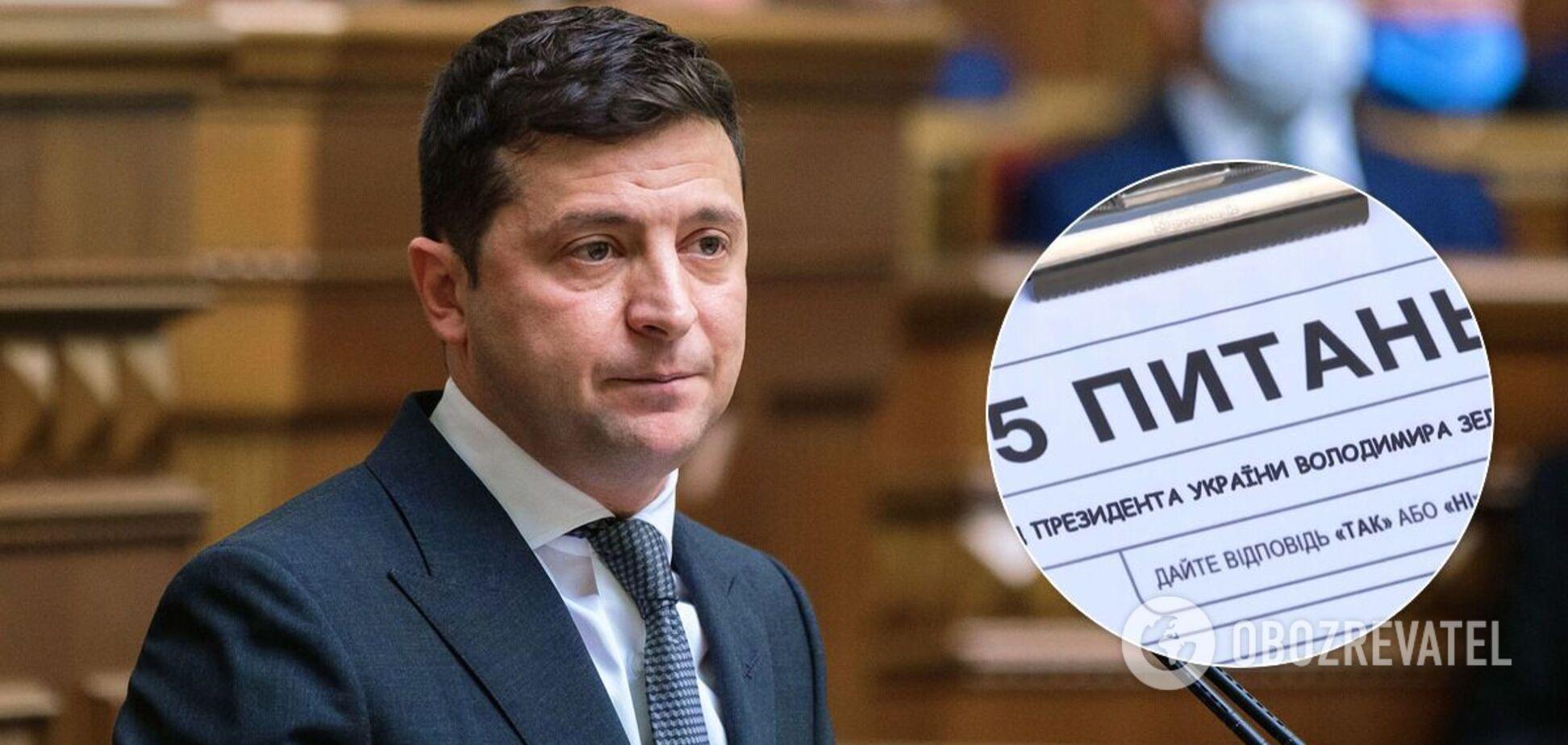 На Зеленского подали в суд из-за опроса в день выборов