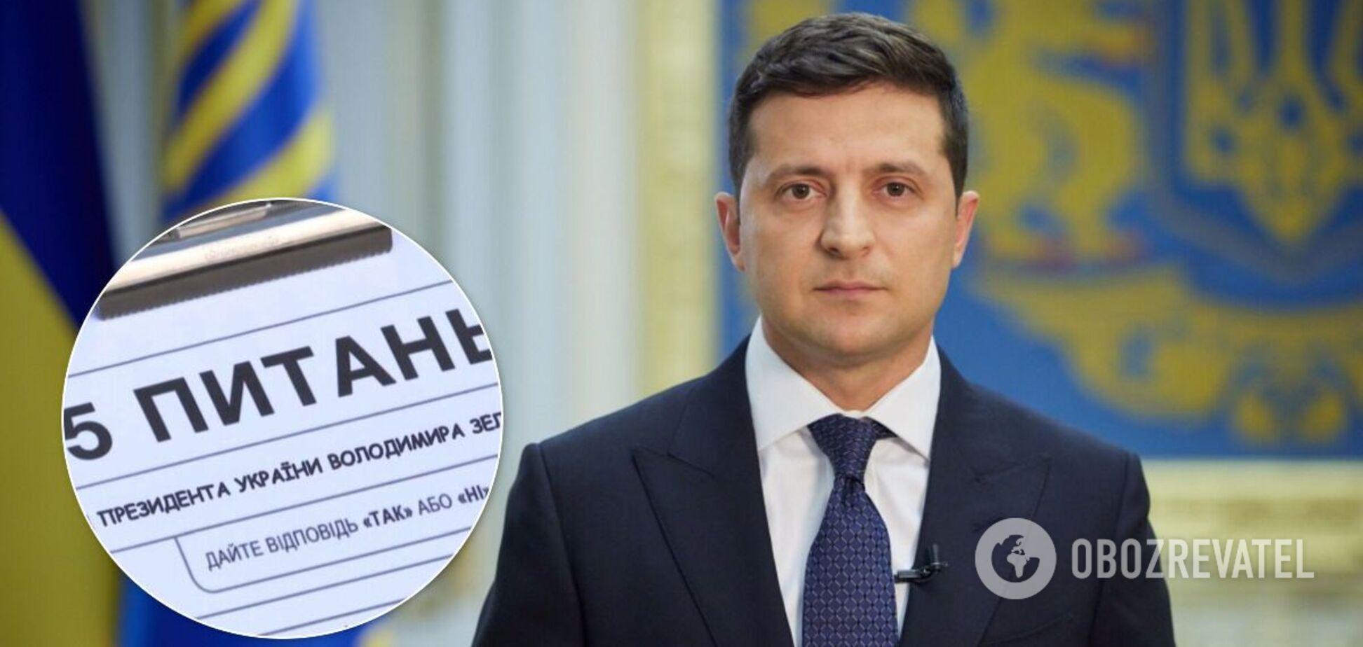 43% українців позитивно ставляться до ідеї Зеленського