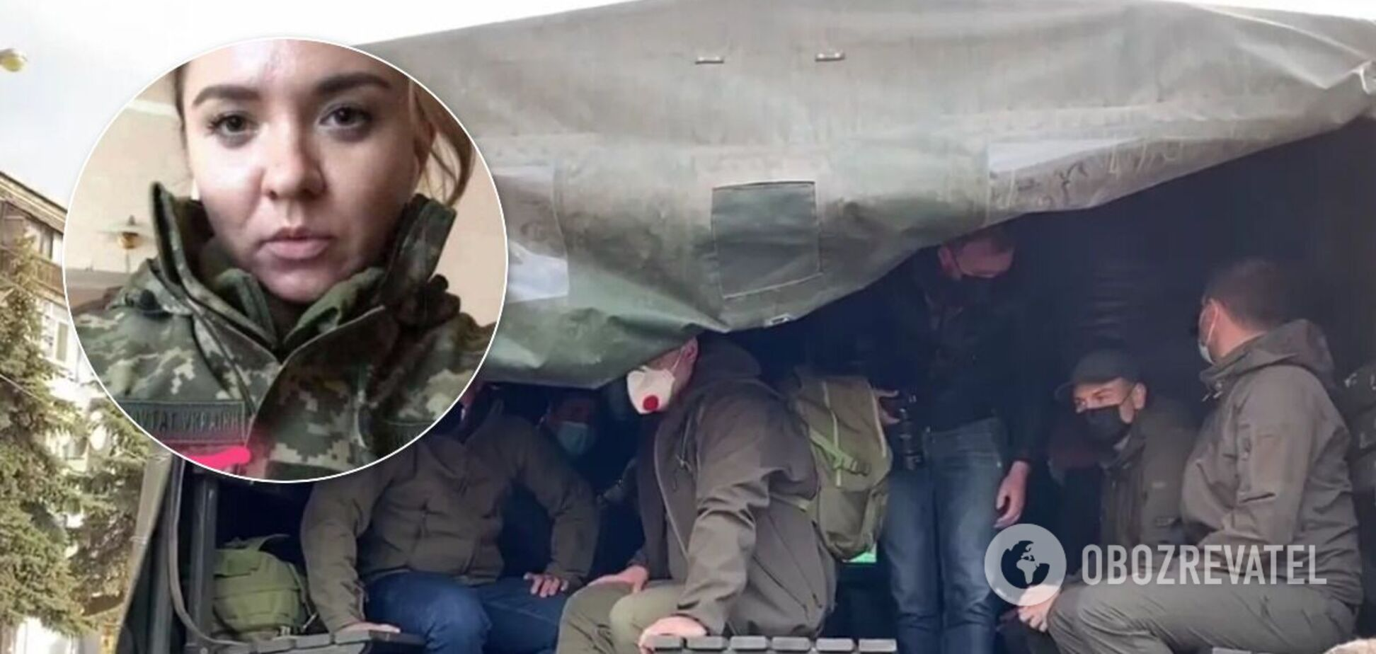 'Слуги народу' 21 жовтня вирушили на Донбас