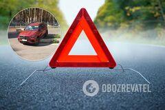 Под Киевом водители регулярно попадают в ДТП на одном и том же месте