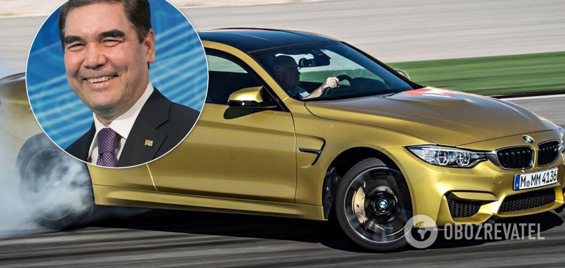 Президент Туркменістану показав майстер-клас із дрифту на BMW M4