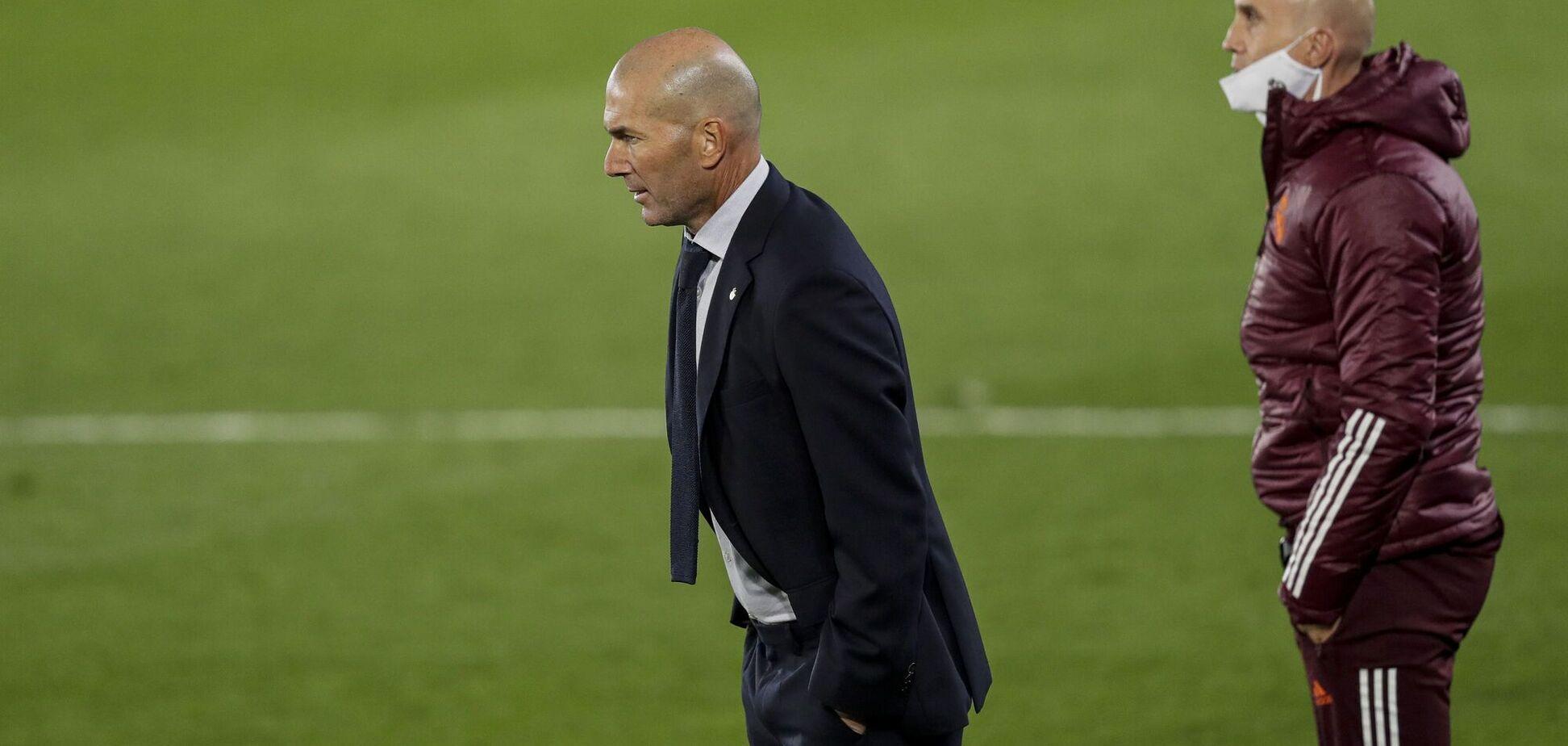 Після провалу від 'Шахтаря' 'Реал' може звільнити Зідана: в ЗМІ назвали кандидатів