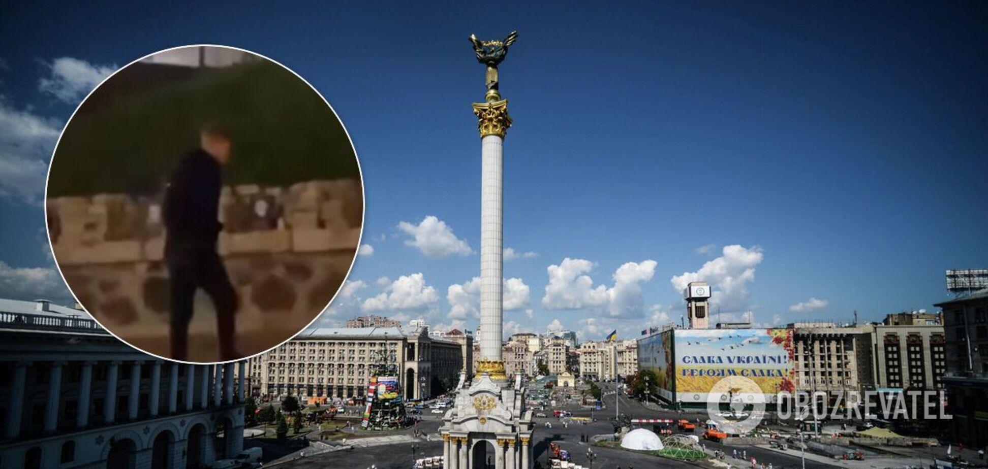 У Києві осквернили меморіал Небесної Сотні