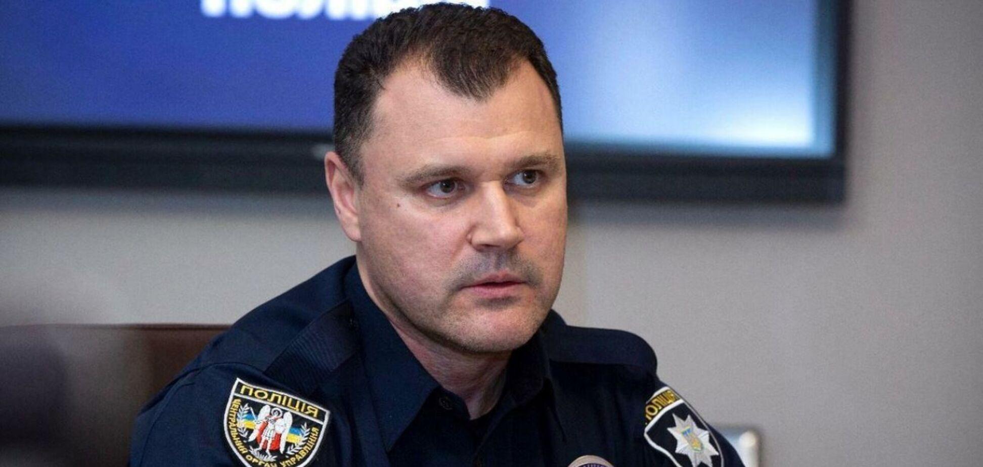 Глава Национальной полиции Украины Игорь Клименко