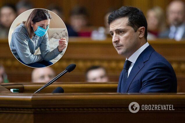 Зеленський оцінив якість лікування COVID-19 в Україні
