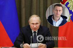 Володимир Путін і Олексій Навальний