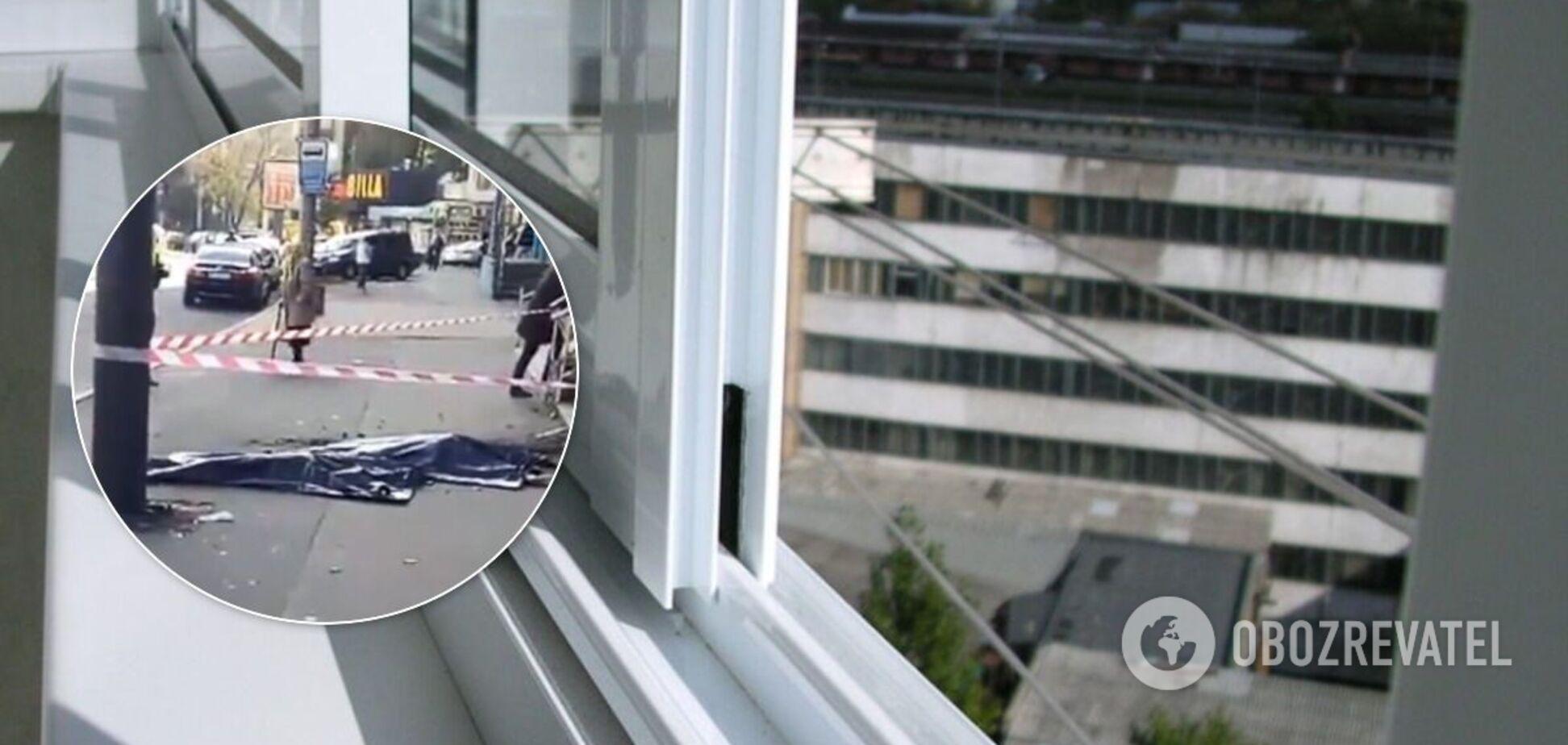 У Києві жінка з дитиною загинули, випавши з вікна