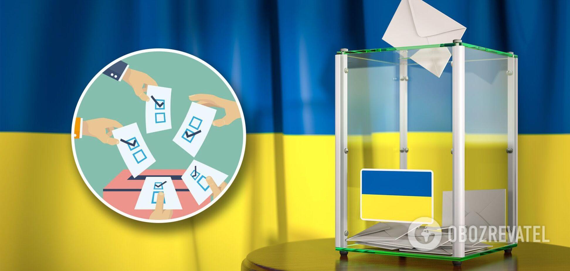 Місцеві вибори в Україні 15 листопада