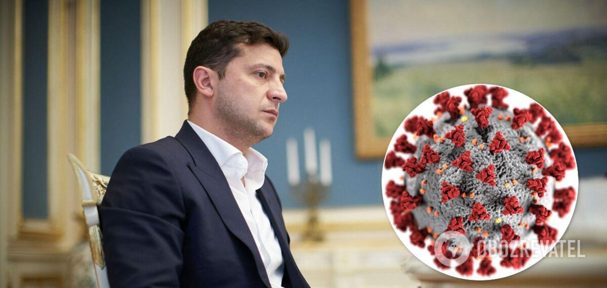 Зеленський готовий випробувати українську вакцину від COVID-19