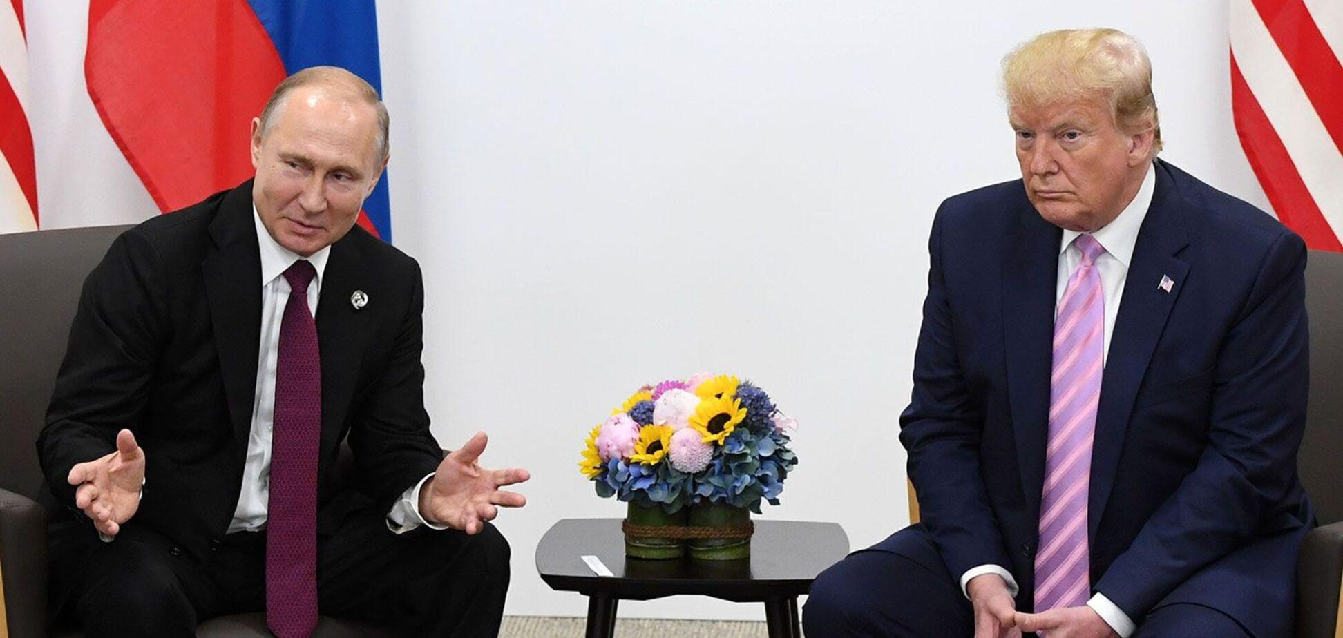 Встреча российского президента Владимира Путина и американского лидера Дональда Трампа