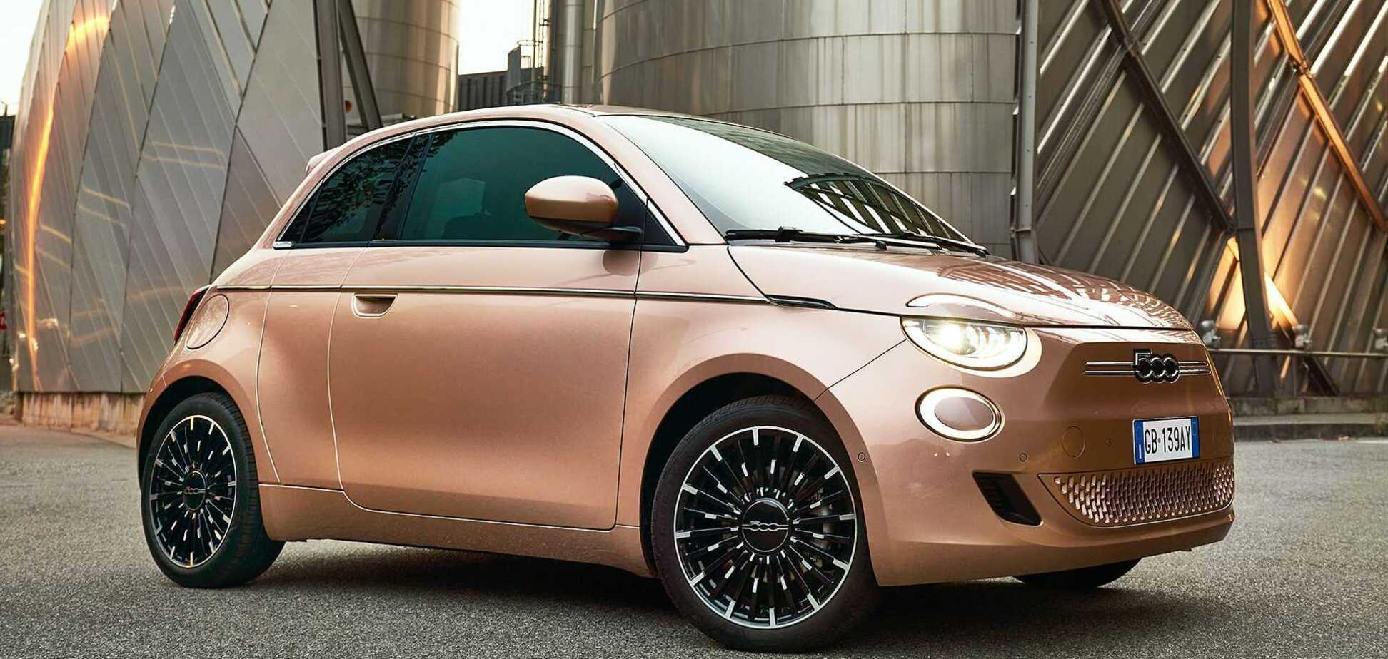 Электромобиль FIAT получил 'фишку' в духе BMW и стал дешевле