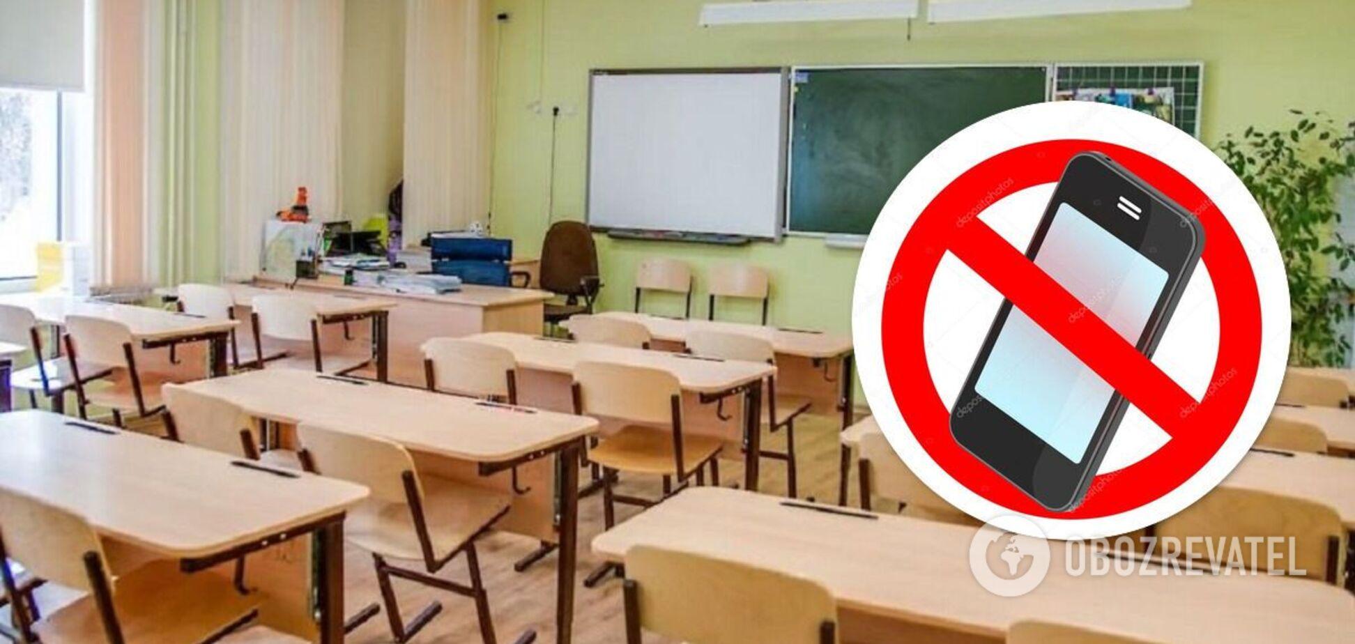 В школах Украины хотят запретить телефоны: зарегистрирован законопроект