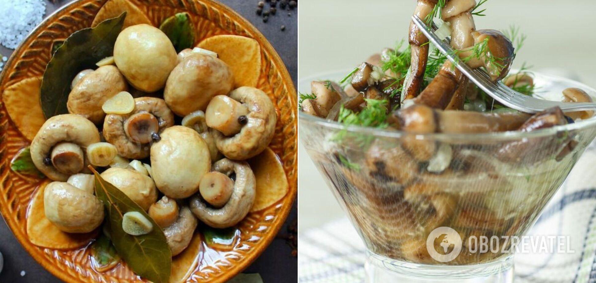 Рецепты маринованных грибов: пять быстрых и простых вариантов закуски