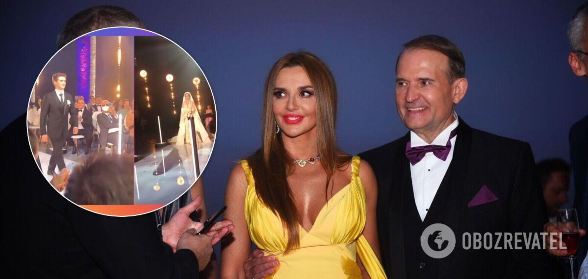 На весіллі пасинка Медведчука помітили відомих політиків. Фото