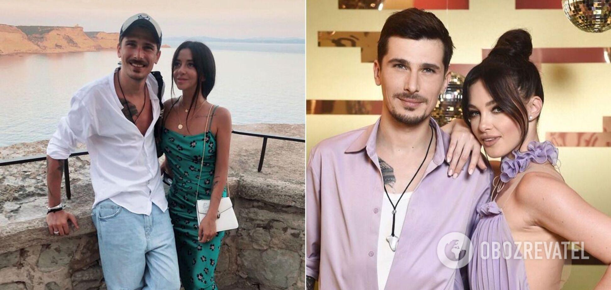 Первое фото - Позитив с женой, второе - с Юлией Сахневич