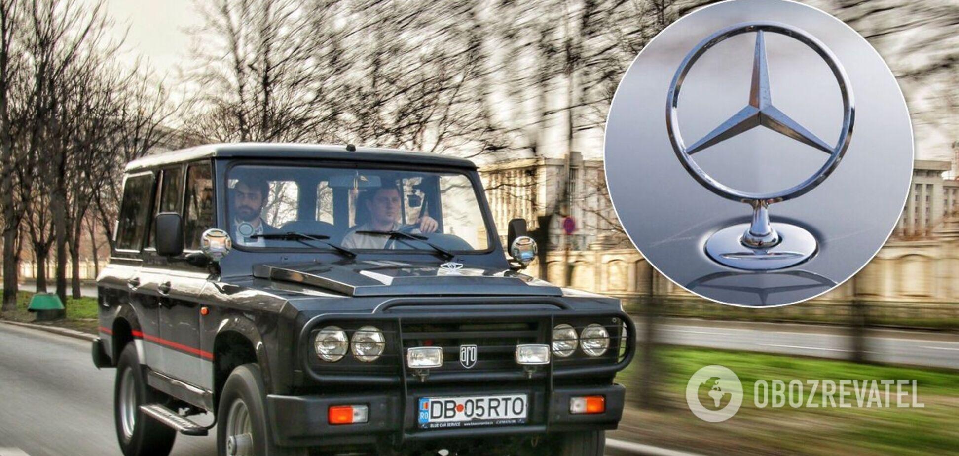 Редкую копию 'Гелендвагена' выставили на продажу в Украине за $2 500