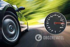 Автомобилист разогнался до 250 км/ч с целью избежать штрафа