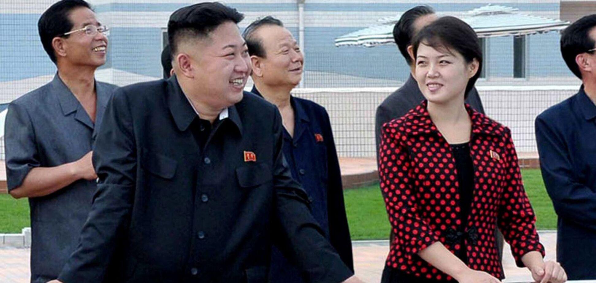 Дружину Кім Чен Ина не бачили дев'ять місяців